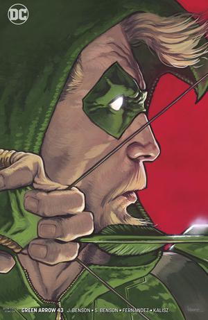 Green Arrow Vol 7 #43 Cover B Variant Kaare Andrews Cover