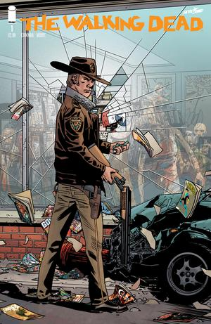 Walking Dead 15th Anniversary Edition #1 Regular Cover