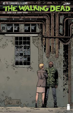 Walking Dead #182 Cover A Regular Charlie Adlard & Dave Stewart Cover