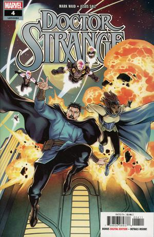 Doctor Strange Vol 5 #4 Cover A Regular Jesus Saiz Cover