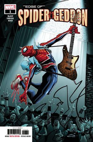 Edge Of Spider-Geddon #1 Cover A Regular Gerardo Sandoval Cover