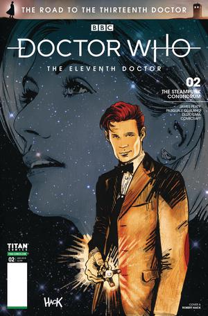 Doctor Who Road To The 13th Doctor #2 11th Doctor Cover A Regular Robert Hack Cover