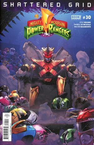 Mighty Morphin Power Rangers (BOOM Studios) #30 Cover A Regular Jamal Campbell Cover (Shattered Grid Tie-In)