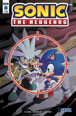 Sonic The Hedgehog Vol 3 #8 Cover A Regular Evan Stanley Cover