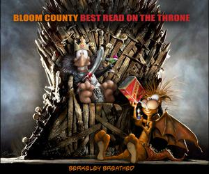 Bloom County Best Read On The Throne TP