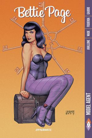 Bettie Page Vol 2 Model Agent TP