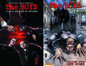 Boys Vol 1 The Name Of The Game TP Signed Edition By Garth Ennis