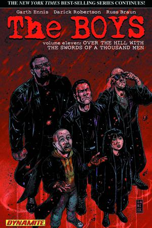 Boys Vol 11 Over The Hill With The Swords Of A Thousand Men TP Signed Edition By Garth Ennis