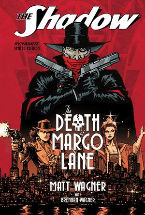 Shadow Death Of Margo Lane HC Limited Edition