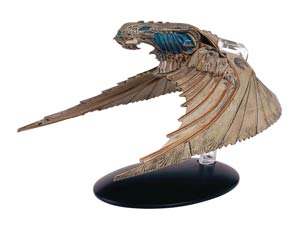 Star Trek Discovery Figurine Collection Magazine #4 Klingon Bird-Of-Prey