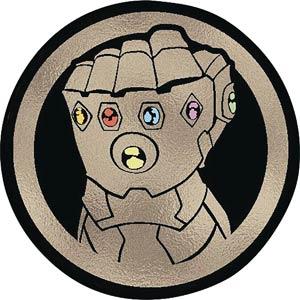 Avengers Infinity War Foil Vinyl Decal - Infinity Gauntlet