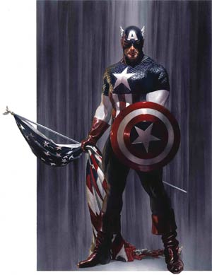 Captain America Vol 9 #2 By Alex Ross Poster