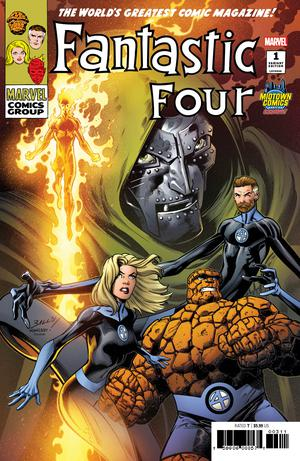 Fantastic Four Vol 6 #1  Midtown Exclusive Mark Bagley Variant Cover