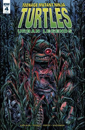 Teenage Mutant Ninja Turtles Urban Legends #4 Cover C Incentive Kevin Eastman Variant Cover