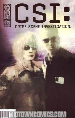 CSI Crime Scene Investigation #5 Regular Ashley Wood Art Cover