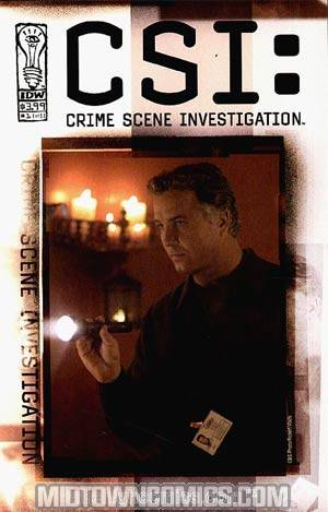 CSI Crime Scene Investigation #1 Limited Photo Cover