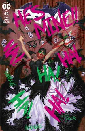 Batman Vol 3 #50  Midtown Exclusive Cover B Joe Jusko Joker Graffiti Variant Cover