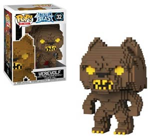 POP 8-Bit Altered Beasts Greek Warrior Werewolf Vinyl Figure
