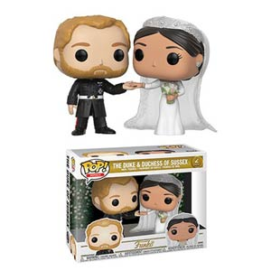 POP Royals The Duke & Duchess Of Sussex 2-Pack Vinyl Figure