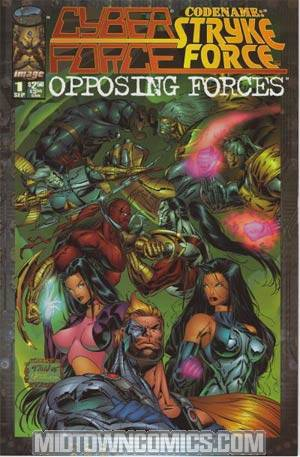 Cyberforce Strykeforce Opposing Forces #1