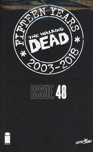 Walking Dead 15th Anniversary Blind Bag Edition #48 Cover A Chris Burnham Cover With Polybag