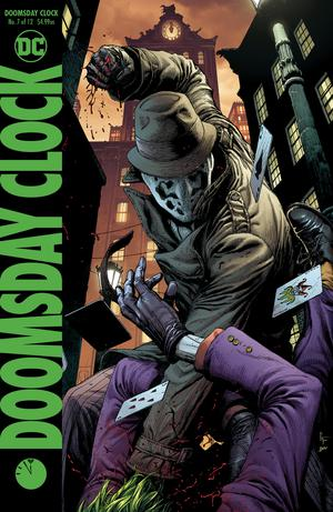 Doomsday Clock #7 Cover B Variant Gary Frank Cover