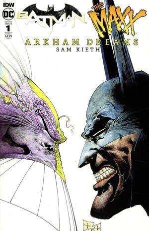 Batman The MAXX Arkham Dreams #1 Cover A Regular Sam Kieth Cover