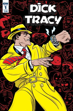 Dick Tracy Dead Or Alive #1 Cover A Regular Michael Allred Cover