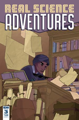 Real Science Adventures Nicodemus Job #3 Cover A Regular Meredith McClaren Cover