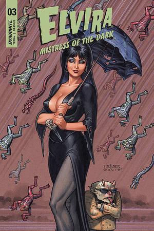 Elvira Mistress Of The Dark Vol 2 #3 Cover A Regular Joseph Michael Linsner Cover