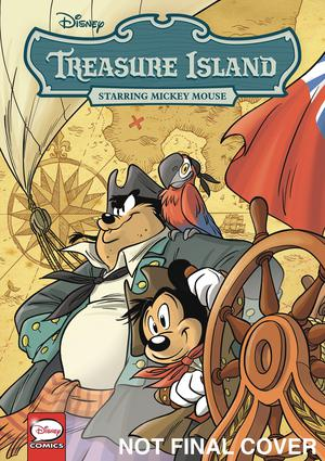 Disney Treasure Island Starring Mickey Mouse TP