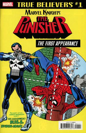 True Believers Marvel Knights 20th Anniversary Punisher First Appearance #1