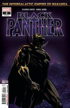 Black Panther Vol 7 #2 Cover C 2nd Ptg Variant Daniel Acuna Cover