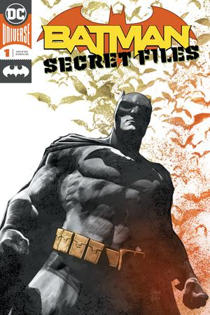 Batman Secret Files Vol 2 #1 Cover A Enhanced Foil Cover