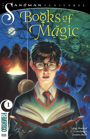 Books Of Magic Vol 3 #1 Cover B Variant Joshua Middleton Cover