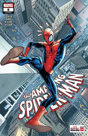 Amazing Spider-Man Vol 5 #8 Cover A 1st Ptg Regular Humberto Ramos Cover