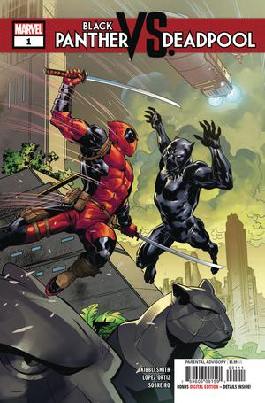 Black Panther vs Deadpool #1 Cover A 1st Ptg Regular Ryan Benjamin Cover