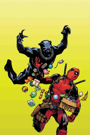 Black Panther vs Deadpool #1 Cover B Variant Cully Hamner Cover