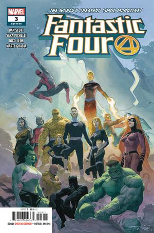 Fantastic Four Vol 6 #3 Cover A 1st Ptg Regular Esad Ribic Cover