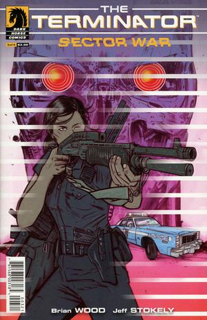 Terminator Sector War #3 Cover B Variant Tula Lotay Cover