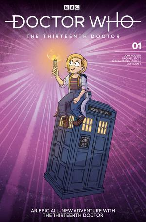 Doctor Who 13th Doctor #1 Cover G Variant Sarah Graley Cover