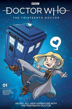 Doctor Who 13th Doctor #1 Cover I Variant Katie Cook Cover