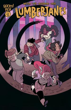 Lumberjanes #55 Cover A Regular Kat Leyh Cover