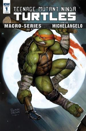 Teenage Mutant Ninja Turtles Macro-Series Michelangelo Cover B Variant Michael Dialynas Cover