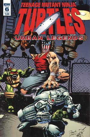 Teenage Mutant Ninja Turtles Urban Legends #6 Cover B Variant Frank Fosco & Erik Larsen Cover