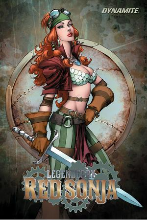 Legenderry Red Sonja A Steampunk Adventure Vol 2 TP
