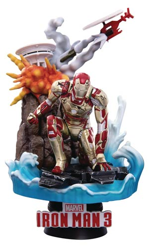 Iron Man 3 Iron Man Mk42 DS-016SP Dream-Select Series Previews Exclusive 6-Inch Statue