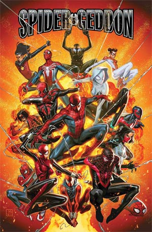 Spider-Geddon #1 By Jorge Molina Poster