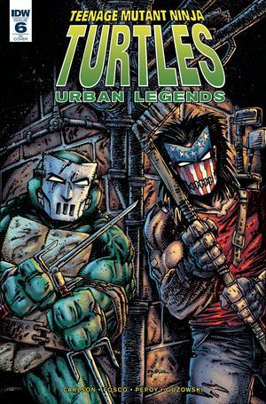 Teenage Mutant Ninja Turtles Urban Legends #6 Cover C Incentive Kevin Eastman Variant Cover