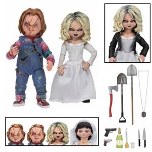 Bride Of Chucky Ultimate Chucky And Tiffany 7-Inch Scale 2-Pack Action Figure